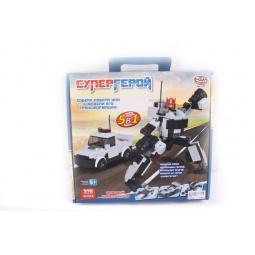 фото Конструктор игровой PlaySmart «Супергерой. 5в1» 1717030