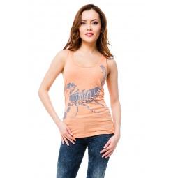 фото Майка Mondigo 8545. Цвет: персиковый. Размер одежды: 46