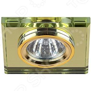 Светильник светодиодный встраиваемый Эра DK8 GD/YL Эра - артикул: 560355