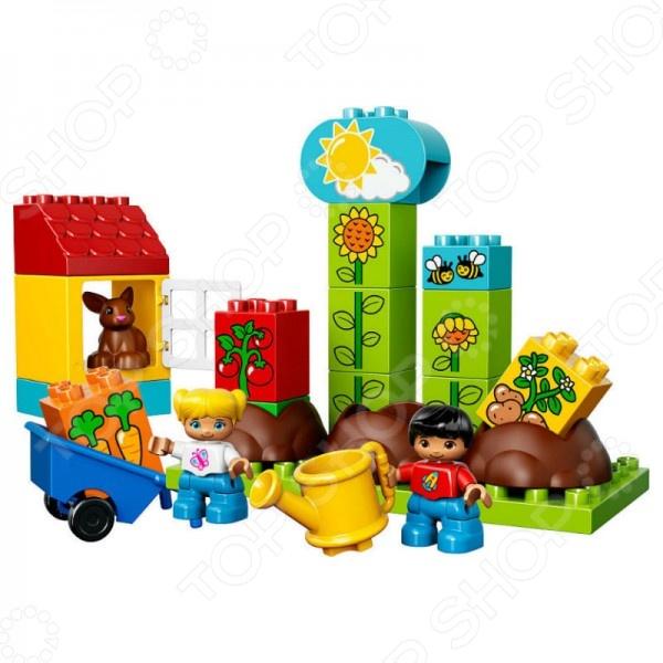 Конструктор игровой LEGO «Мой первый сад»Конструкторы LEGO<br>Конструктор игровой Lego Мой первый сад - интересная и увлекательная игрушка, которая откроет вашему ребенку совершенно новый мир приключений и необычных историй, автором которых сможет стать он сам. Яркие и качественные элементы конструктора выполнены из прочного и безопасного пластика, легко складываются и компонуются. Ребенок с увлечением будет собирать конструктор и придумывать новые сюжеты для игр. Кроме того, собрать конструктор вашему малышу могут помочь его друзья - деталей хватит на всех. Подобное времяпрепровождение превратить развивающие занятия в увлекательную игру, разовьет в детях чувство товарищества внимательность и ответственность. Подарите своему ребенку массу положительных эмоций и отличное настроение!<br>