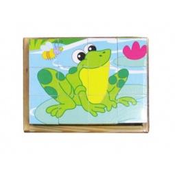 Купить Кубики обучающие Mapacha «В мире животных-3»