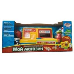 фото Касса игрушечная Shantou Gepai «Мой магазин с набором продуктов» 7253