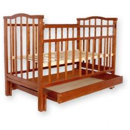 фото Кроватка детская Агат Золушка-4. Цвет: светло-коричневый