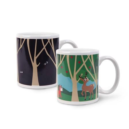 Купить Кружка Kikkerland «Утро в лесу»