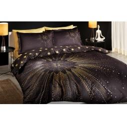 фото Комплект постельного белья TAC Selia. 1,5-спальный. Цвет: черный