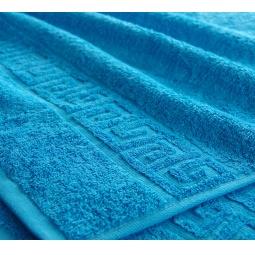 фото Полотенце махровое Asgabat Dokma Toplumy. Размер: 100х180 см. Цвет: голубой
