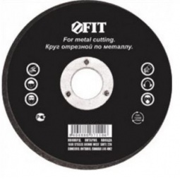 фото Диск отрезной по металлу FIT. Толщина основного диска: 2,5 мм
