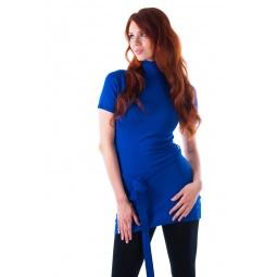фото Туника вязаная Mondigo 9707. Цвет: синий. Размер одежды: 44