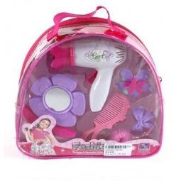 фото Игровой набор парикмахера Shantou Gepai в рюкзачке «Модница» JX-2027E