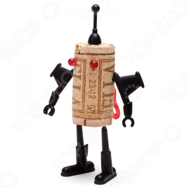 фото Декор для винной пробки Monkey Business Corkers Robots Юри, Другие барные принадлежности