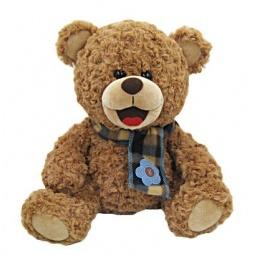 фото Мягкая игрушка Fluffy Family «Мишка Тоша с шарфом»