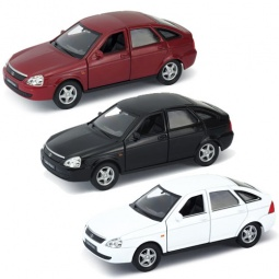 Купить Модель автомобиля 1:34-39 Welly LADA PRIORA. В ассортименте