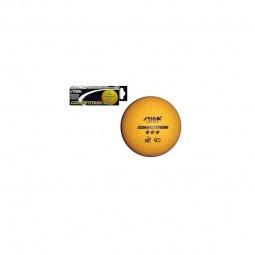 фото Мячи для настольного тенниса Stiga Competition. Цвет: оранжевый