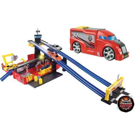 Купить Набор игровой для гонок Пламенный Мотор «Трейлер - Авторалли»