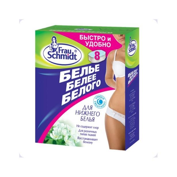 фото Таблетки для отбеливания Frau Schmidt «Белье белее белого» 91074