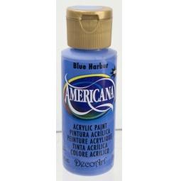 фото Краска акриловая DecoArt Премиум Americana. Цвет: синяя гавань