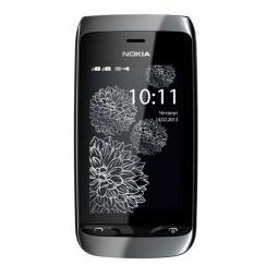 фото Мобильный телефон Nokia 308 Asha. Цвет: серебристый, черный