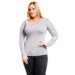 фото Кофта Mondigo XL 8494. Цвет: серый. Размер одежды: 48
