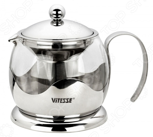 Чайник заварочный Vitesse VS-1919 Aniya чайник заварочный vitesse aniya с фильтром 800 мл