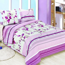 фото Комплект постельного белья Amore Mio Muza. Poplin. 1,5-спальный