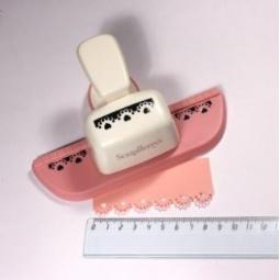 фото Дырокол фигурный для декорирования кромки листа ScrapBerry's SCB 606.063