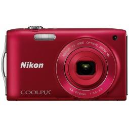 фото Фотокамера цифровая Nikon CoolPix S3300. Цвет: красный
