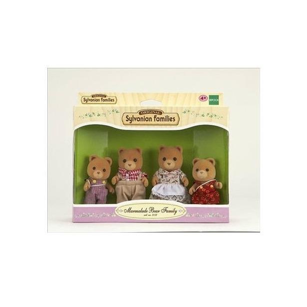 фото Набор игровой Sylvanian Families «Семья Мармеладных медведей»