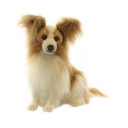 фото Мягкая игрушка Hansa «Собака породы папийон»