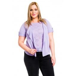 фото Жакет Mondigo XL 9775. Цвет: сиреневый. Размер одежды: 48