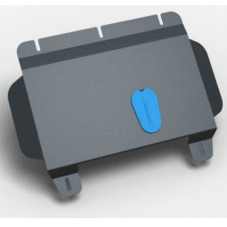 Комплект: защита картера и крепеж Novline-Autofamily Ford Edge 2013: 3,5 бензин АКПП - фото 11