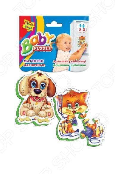 Пазл магнитный Vladi Toys «Домашние любимцы» тверь таймер к холодильнику индезит тэу 01 2