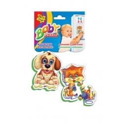 Купить Пазл магнитный Vladi Toys «Домашние любимцы»