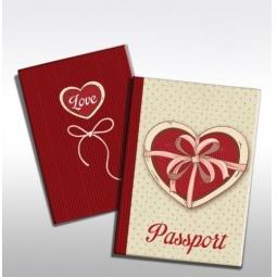 фото Обложка для паспорта Феникс-Презент «Любовь»