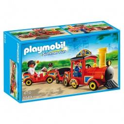 фото Конструктор игровой Playmobil «Парк Развлечений: Детский поезд»