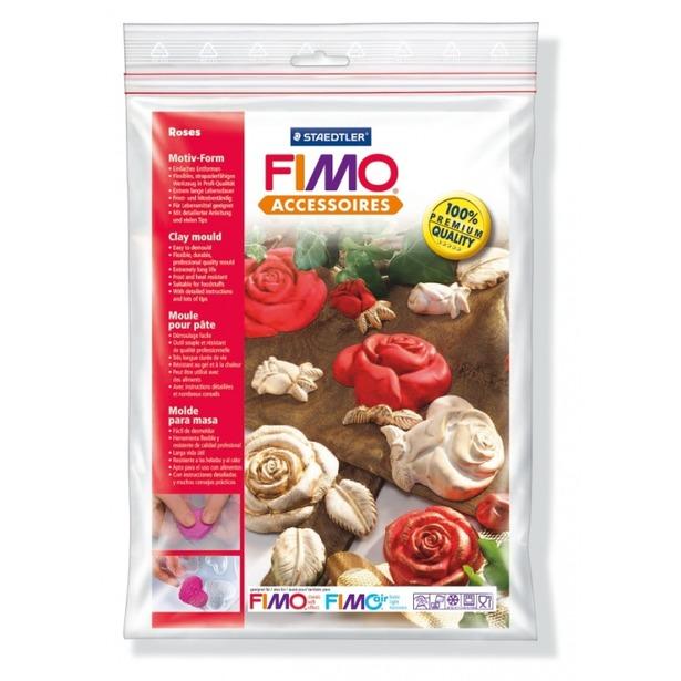 фото Набор формочек для лепки Fimo «Розы»