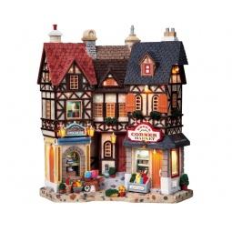 Купить Фигурка керамическая Lemax «Фасад: Торговый угол»