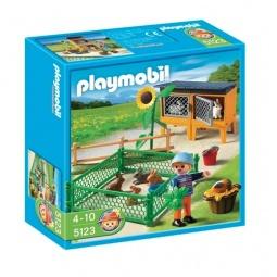 фото Конструктор игровой Playmobil «Ферма: Клетки для зайцев»