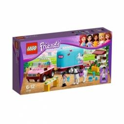 фото Конструктор LEGO Эмма и трейлер для ее лошадки