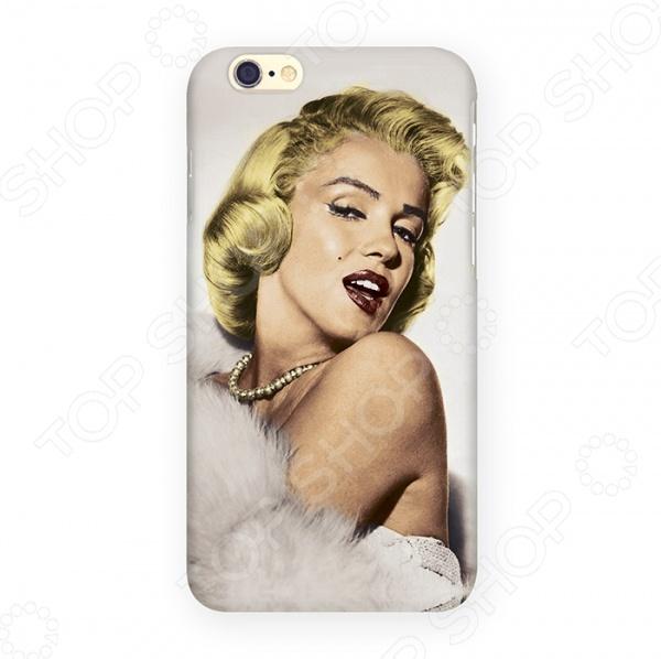 Чехол для iPhone 6 Mitya Veselkov «Цветная Монро в боа» чехол для iphone 6 mitya veselkov ретро париж