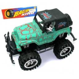 фото Машинка инерционная Shantou Gepai «Джип». Цвет: зеленый