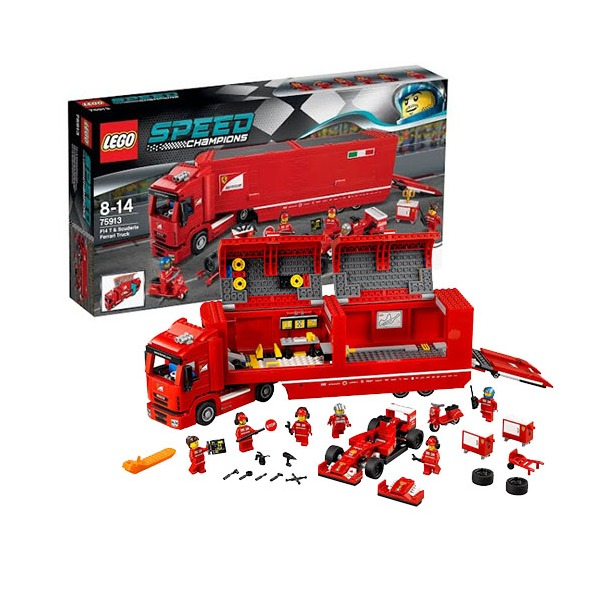фото Конструктор LEGO F14T и Scuderia Ferrari