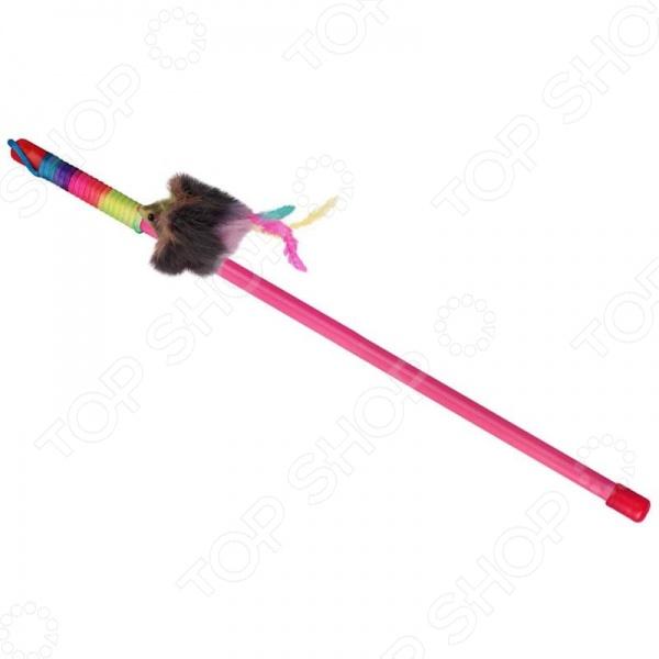 Игрушка для кошек DEZZIE «Мышь-клоун» игрушка для кошек i p t s мышь плюшевая туба 5см
