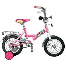 фото Велосипед Larsen Kids 12, 2012 года. Цвет: розовый