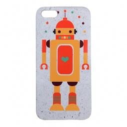 фото Чехол для iPhone 5 Mitya Veselkov «Влюбленный робот»