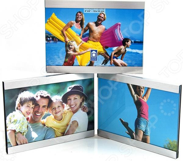 Фоторамка-коллаж 39425Фоторамки. Держатели<br>Фоторамка-коллаж 39425 источник ваших положительных эмоций и миниатюрный дневник приятных воспоминаний. Люди изо дня в день делают множество фотографий, чтобы запечатлеть и сохранить на бумаге самые лучшие и радостные моменты жизни. А замечательная фоторамка-коллаж поможет красиво оформить фото, дополнив их открытками или записками, рисунками или различными предметами декора. Изделие изготовлено из качественных прочных материалов, не требующих к себе особого ухода. Достаточно лишь раз в несколько дней протирать фоторамки сухой мягкой тканью, чтобы сохранить их достойный внешний вид. А нейтральная цветовая гамма изделия позволит ему идеально вписаться в интерьер любого помещения.<br>