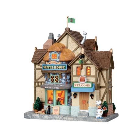 Купить Домик керамический Lemax «Магазин бельгийских вафель»