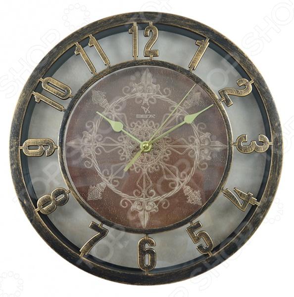 Часы настенные Вега  0199 «Ажур бронза»
