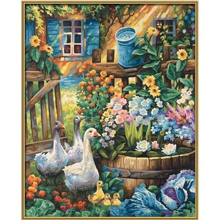 Купить Набор для рисования по номерам Schipper «Палисадник»