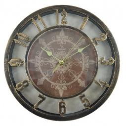 фото Часы настенные Вега Н 0199 «Ажур бронза»