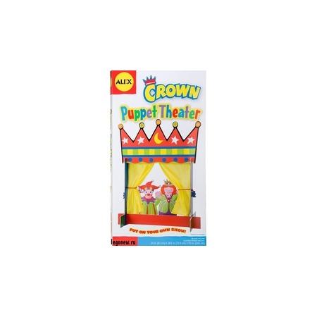 Купить Кукольный театр настольный Alex Crown Puppet Theater